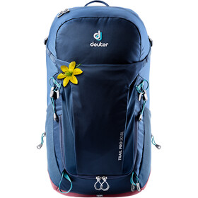 Deuter W's Trail Pro 30 Backpack Dame midnight/maron